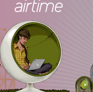 Airtime Homepage Screenshot